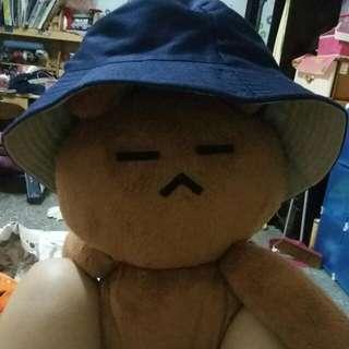 深藍色漁夫帽