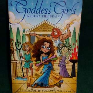 Goddess Girls: Athena The Brain