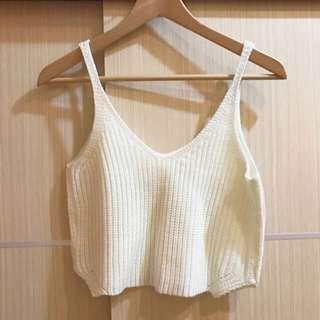 免運💕日本 針織 背心 細肩帶
