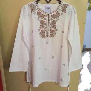 CONTEMPO Kids - White Moslem Shirt