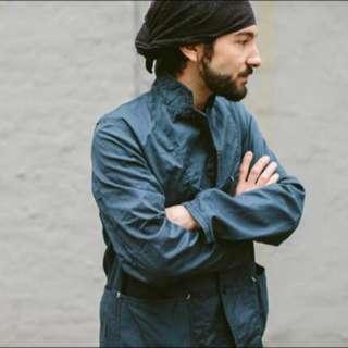 二手美品 Engineered Garments x Ippudo 一風堂 拉麵 聯名 深藍S號 $15,800(免運)