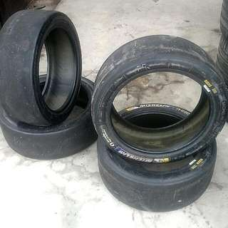 Michelin Full Slick Race Tyre  ???/61/17