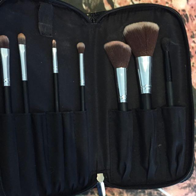 7 Peice Makeup Brush Set