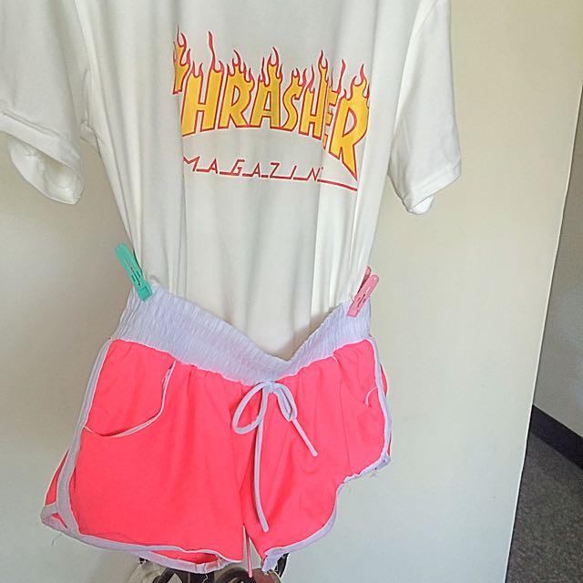 運動女孩必備短褲🌸💗