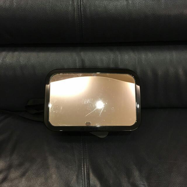 汽車安全座椅可調後座鏡