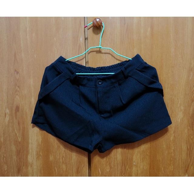 (全新含運)純黑 西裝版 短褲