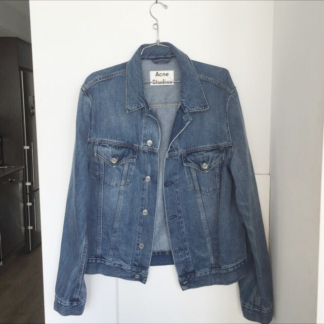ACNE STUDIOS WHO MID VINT JEAN JACKET