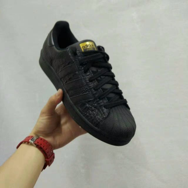 adidas superstar snake black