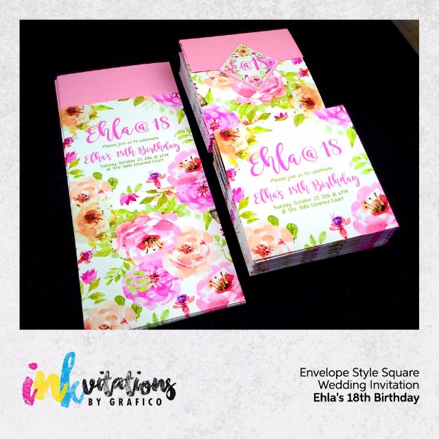 Affordable Debut Debutant 18th Invitations by Grafico Design