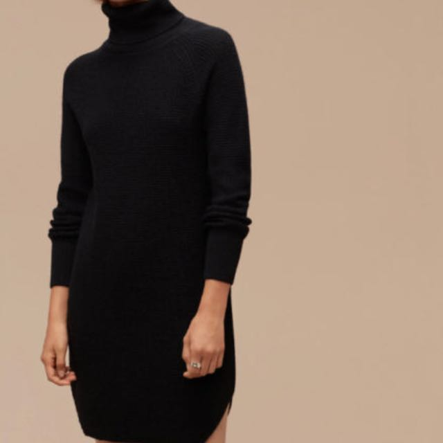 Aritzia Wilfred Sweater Dress Size M