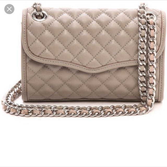 Authentic Rebecca Minkoff Quilted Crossbody Bag Womens Fashion