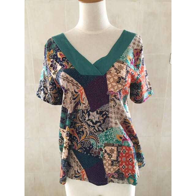 Batik Top - Zumma Cloth
