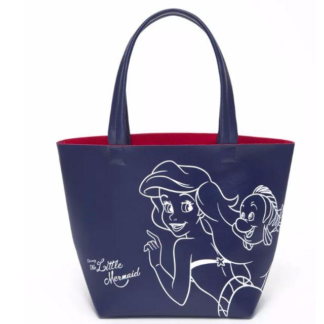 ◆Belle Shop◆日本 迪士尼 DISNEY 小美人魚 公主 愛麗兒 托特包 購物袋 環保包 午餐袋 便當袋