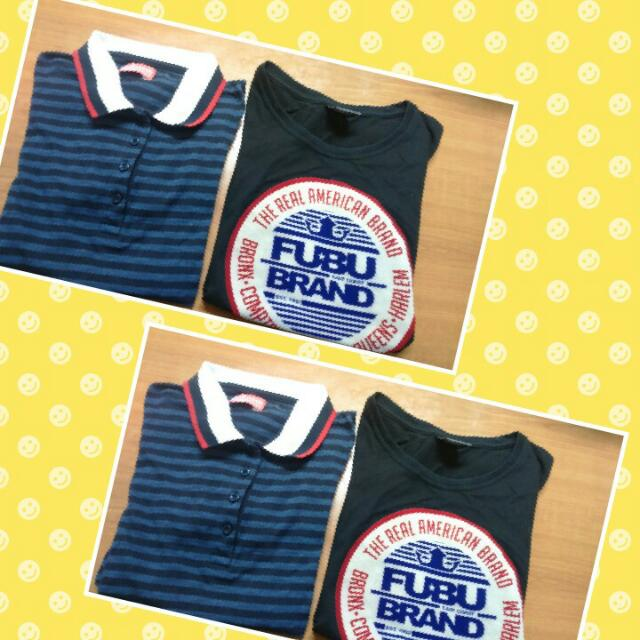 Bench Polo Shirt Plus Black Fubu Shirt