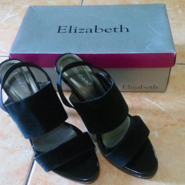 Sepatu Hitam Elisabeth Size38 (Free Ongkir)