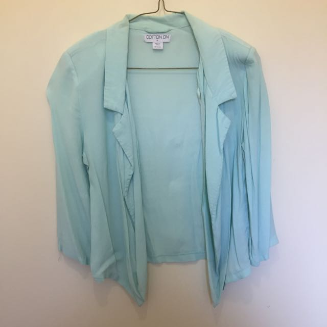 Blue Cotton On Blazer Size S