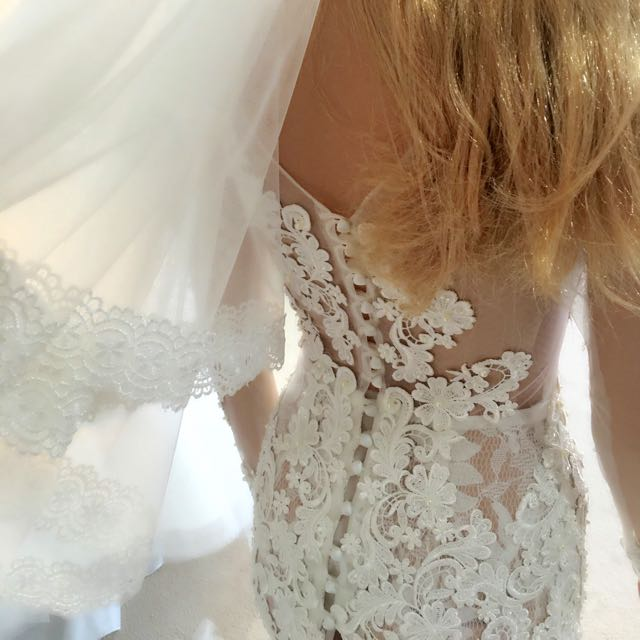 Brand new designer wedding dress on sale