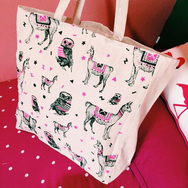 CAMEL&OWL TOTE BAG by TYPO