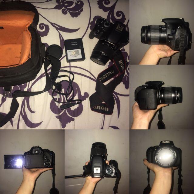 Camera Dslr Canon 600D