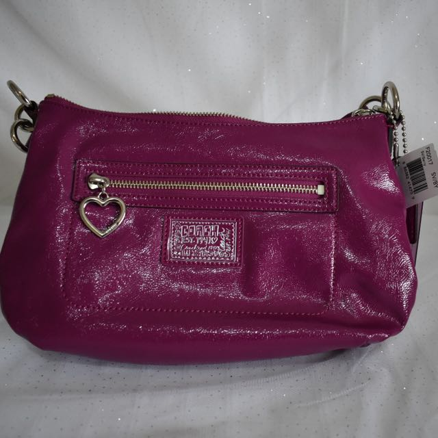 Coach Liquid Fuchsia Crossbody