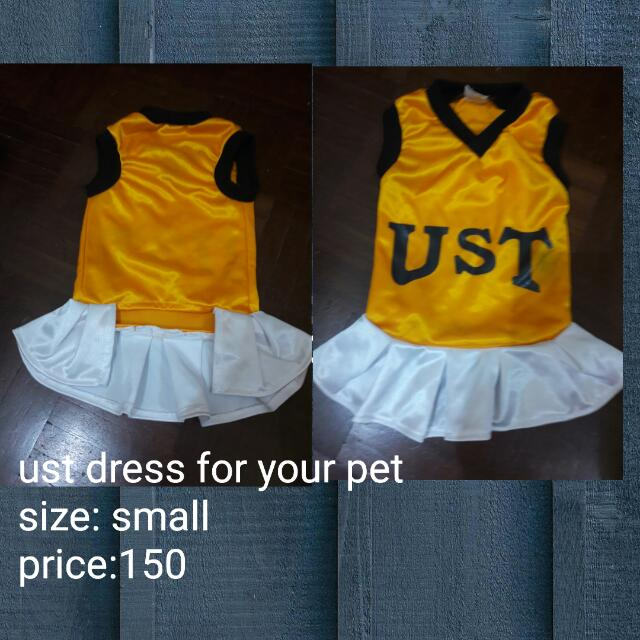 SOLD Dog clothes UST print