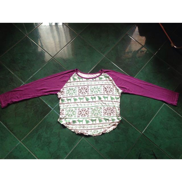 Ethnic Crop Shirt