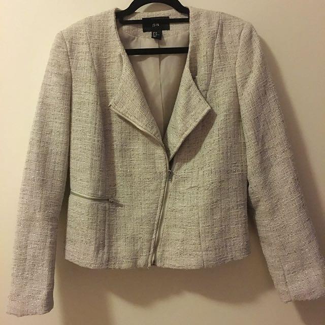 H&M Textured Blazer