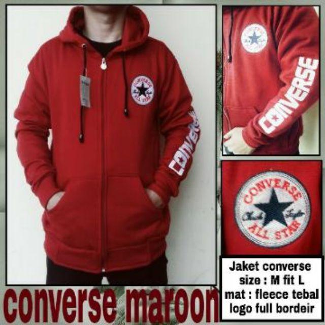 c950afcb0e8e Sweater Pria Hodie Converse Comby Sweater Fleece Tebal - Page 2 - Daftar  Update Harga Terbaru Indonesia