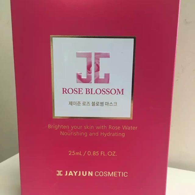 Jayjun Rose Mask Hydrating