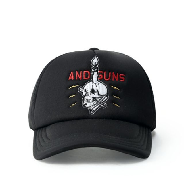 9569350b133af Justin Bieber Andsuns Curve Brim Black Trucker Cap Hat Caps Hats with  Adjustable Snapback