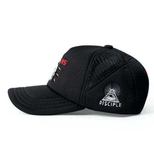 51be503e4e9ff8 Justin Bieber Andsuns Curve Brim Black Trucker Cap Hat Caps Hats with  Adjustable Snapback