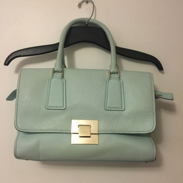 Kate Spade Blue Leather Purse