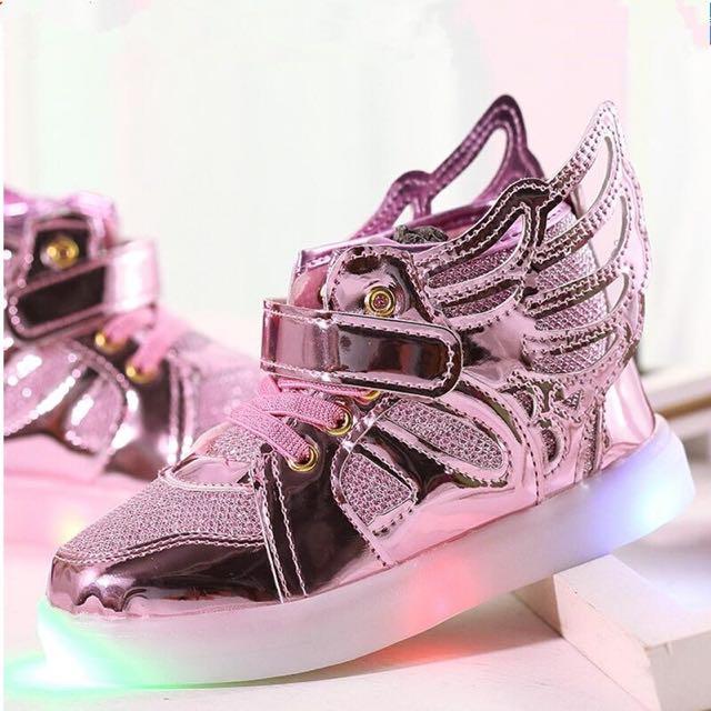 LED shoes Pink Size 21