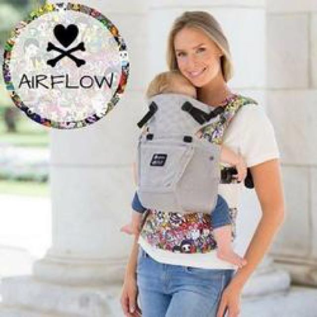 0e8fcb7e2e1 REDUCED! Lillebaby Tokidoki Complete Airflow 3D Mesh Baby Carrier ...