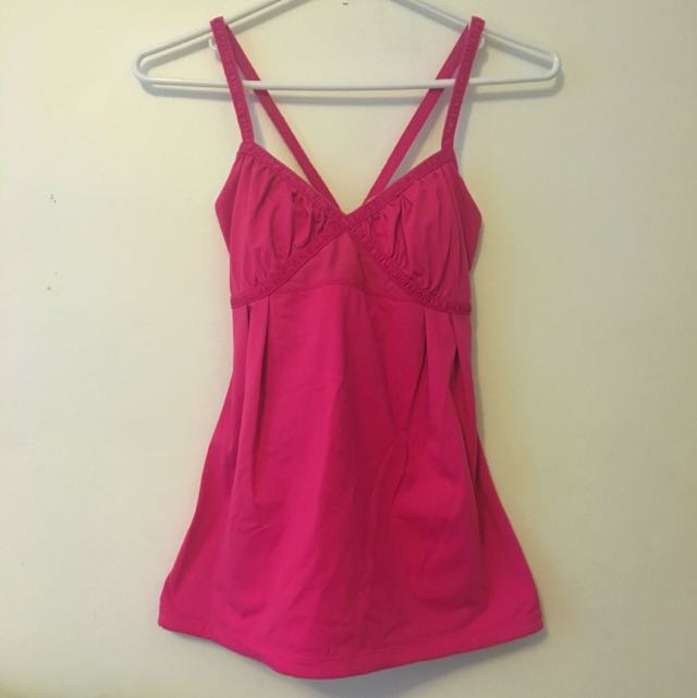 Lulu Lemon Hot Pink Top