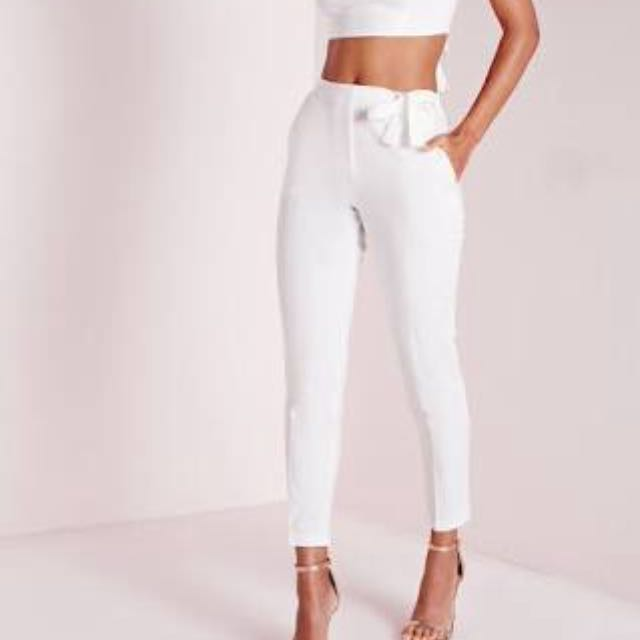 Missguided High Waisted Cigarette Pants