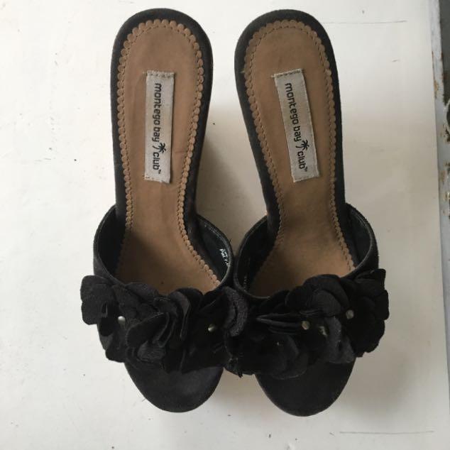Montego Bay Black Heels S5