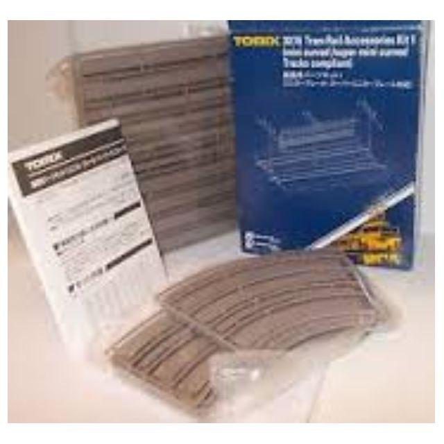 [N 1/150] Tram Rail Accessories Kit 1 [Tomix] NEW