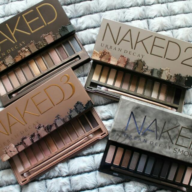 Naked Palette 1 2 3 Smokey Or Ultimate Basics