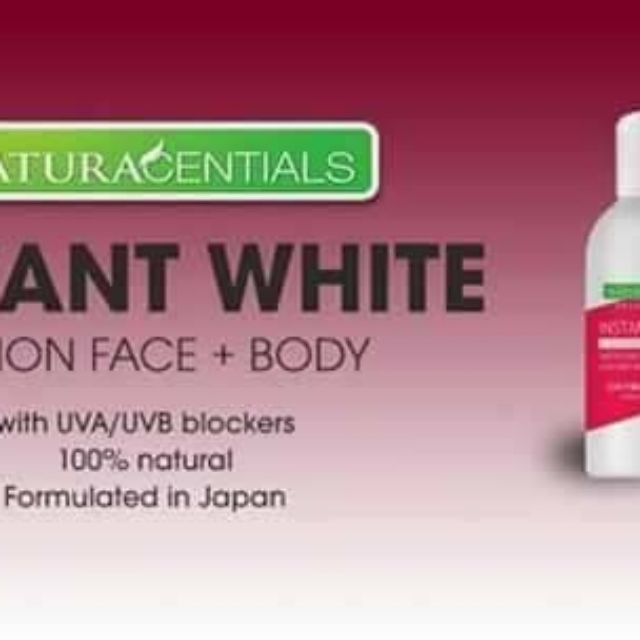 Natural Instant White Lotion Face+Body