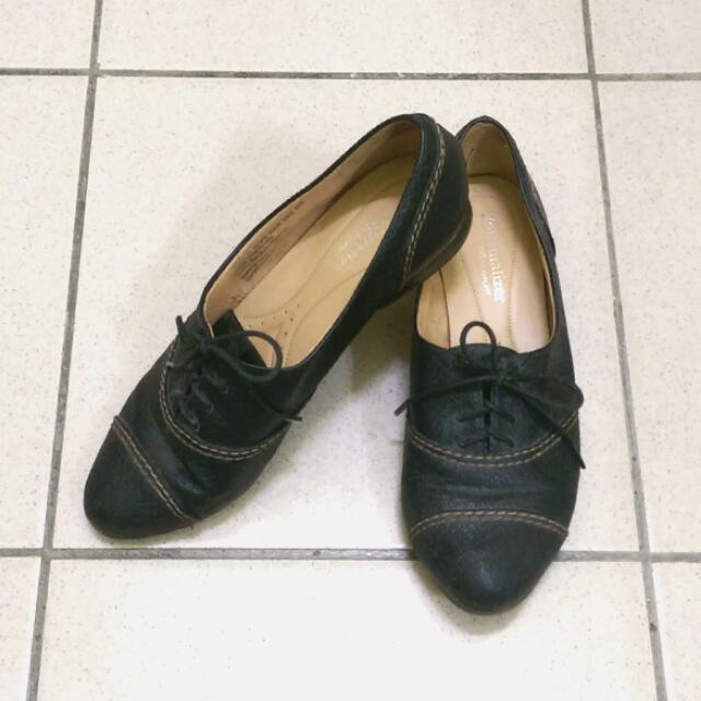 ❤歐美👞naturalizer黑色牛津鞋👞