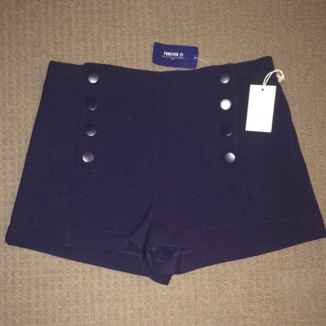 NEW Forever 21 High Waisted Shorts