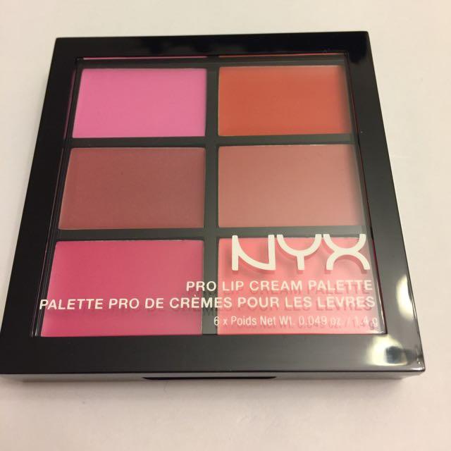New NYX Lip Palette