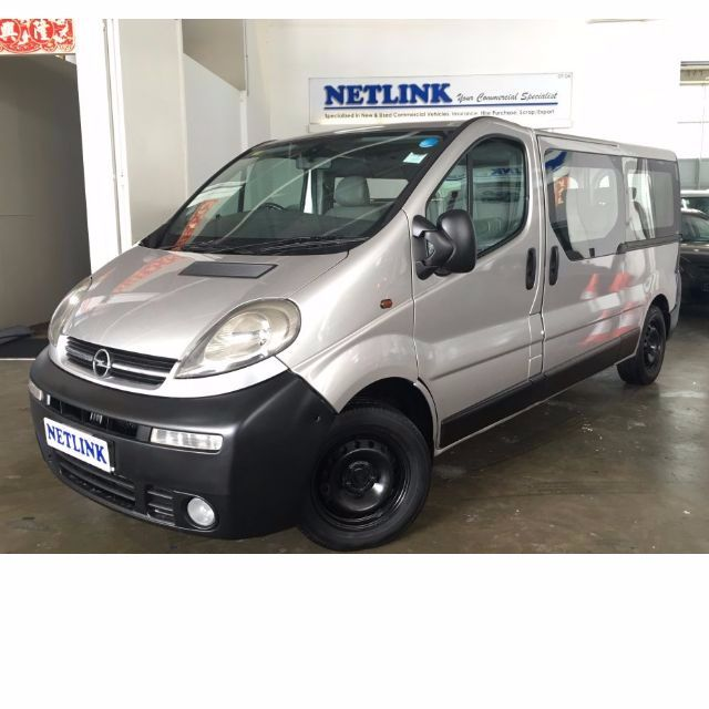 Goede Opel Vivaro 2.0M - (9 Seater Pa Bus), Cars on Carousell OH-36