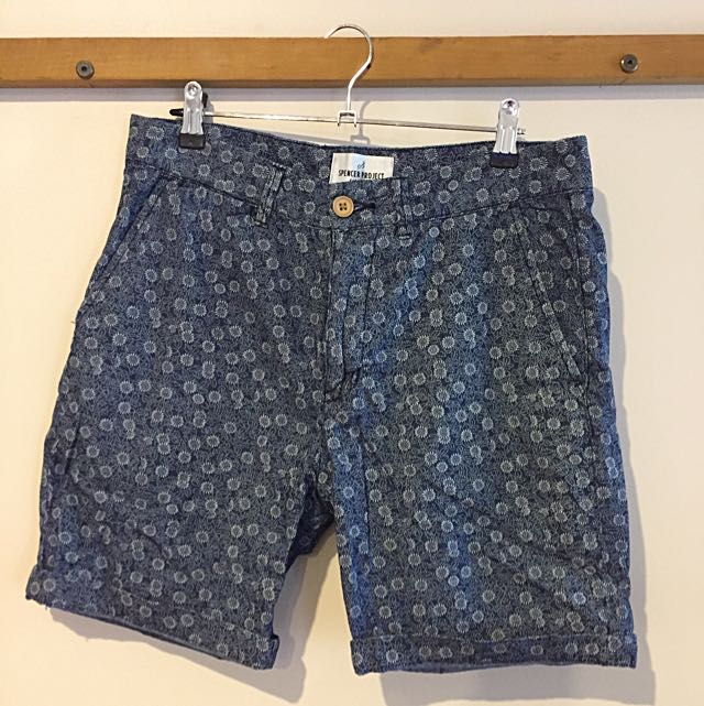 Patterned Shorts (SPENCER PROJECT)