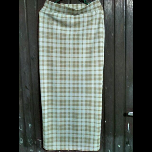 Pencil Skirt Brown