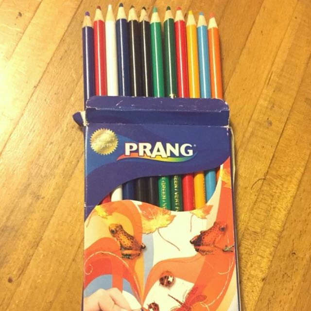 Prang Pencil Crayons 12
