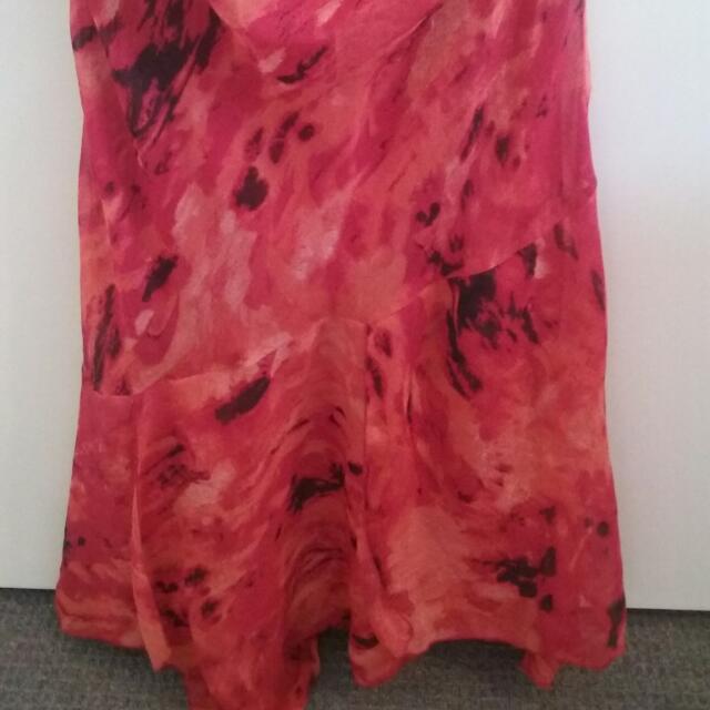 Red Skirt M