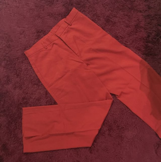 Red Trouser