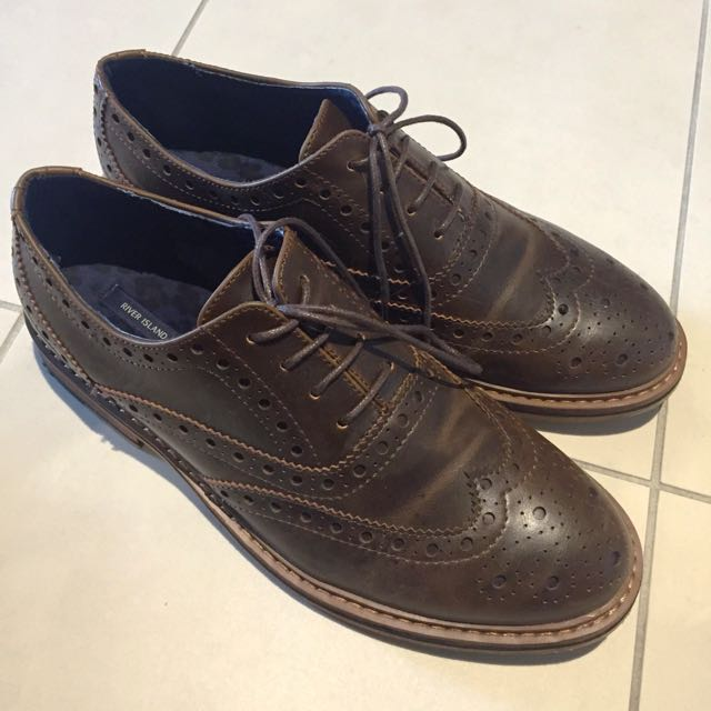 River Island Leather Shoes Size 40 #1212sale